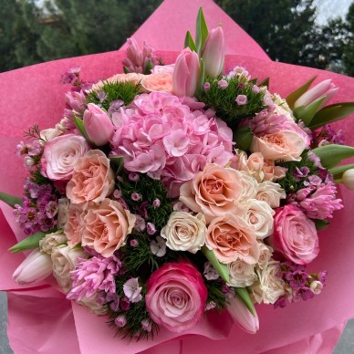 Pinkish Bouquet