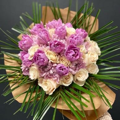Tulipan'Rosa Buket
