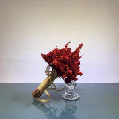 Kırmızı Gelin Buketi